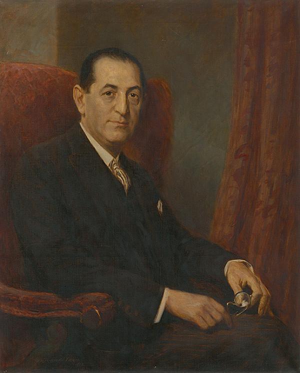 Elemír Halász-Hradil - Portrét muža