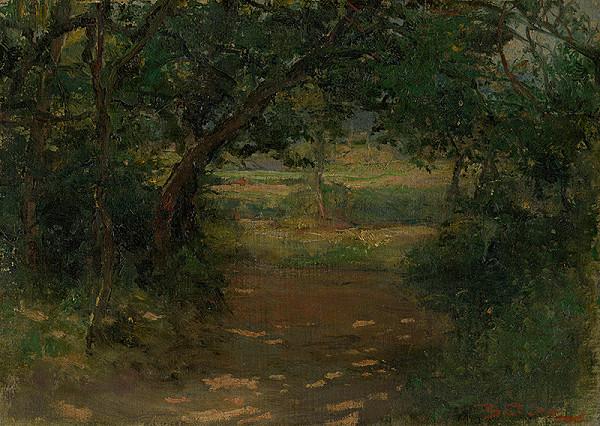 Antonín Balcar – Letná krajina