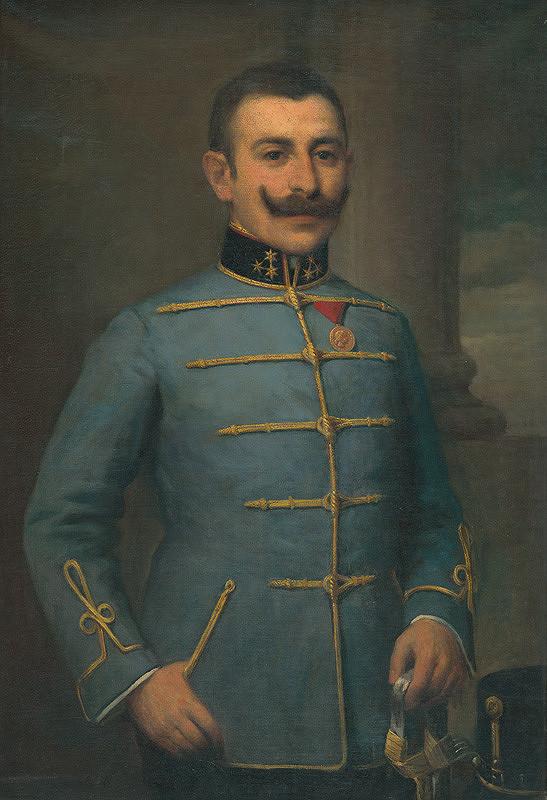 Elemír Halász-Hradil - Portrét Eugena Halmiho