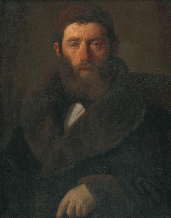 Leopold Horovitz – Portrét Horovitza Hermana