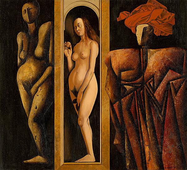 Rudolf Krivoš - Pravdepodobný portrét J.van Eycka