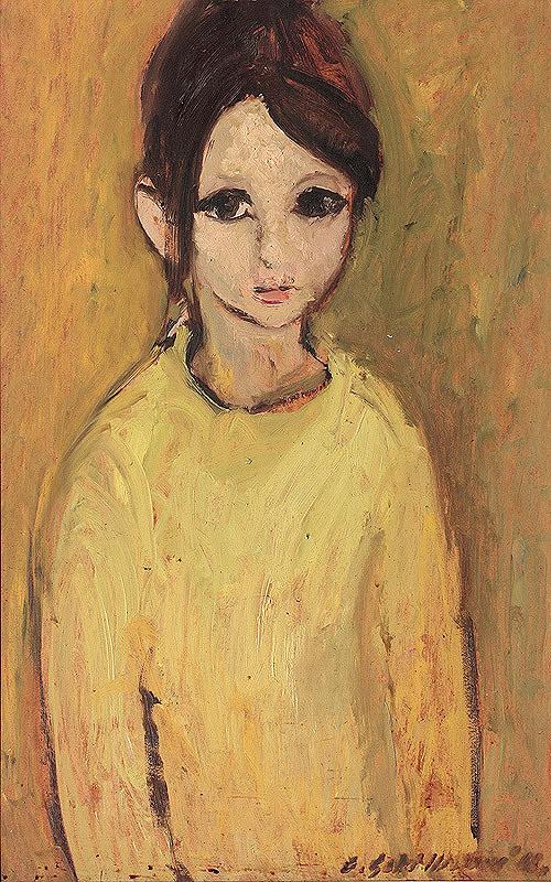 Gabriela Schillerová - Detský portrét
