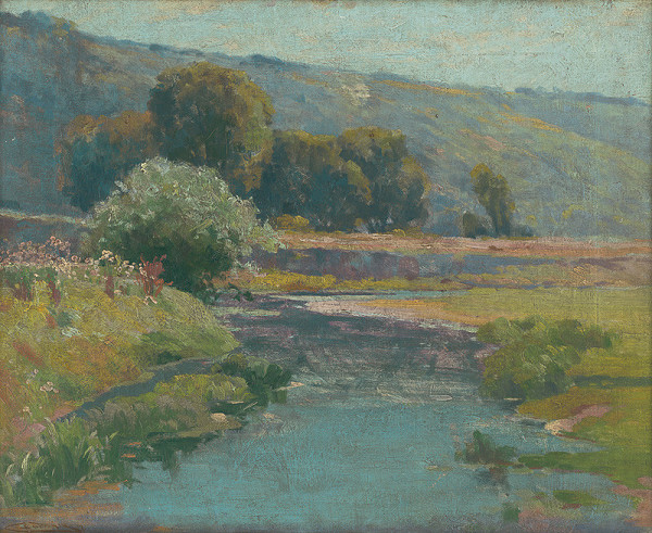 Ľudovít Čordák – Krajina s rozvodneným potokom