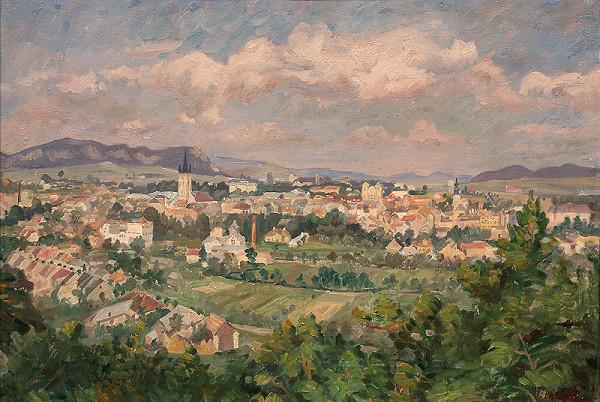 Jozef Bendík – Pohľad na Prešov