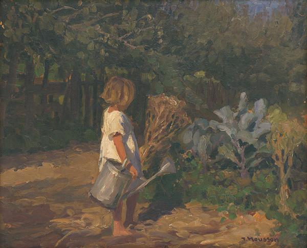 Jozef Theodor Mousson - Dievčatko s krhlou