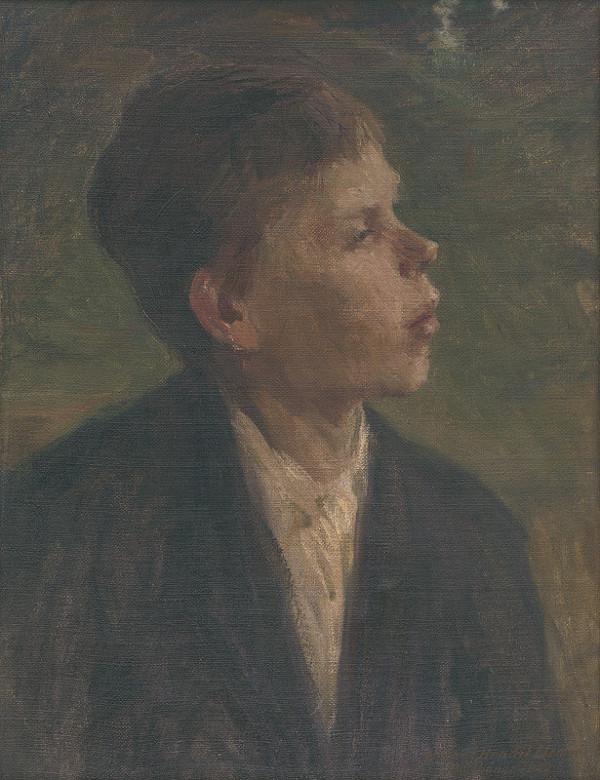Elemír Halász-Hradil - Sedliacky chlapec