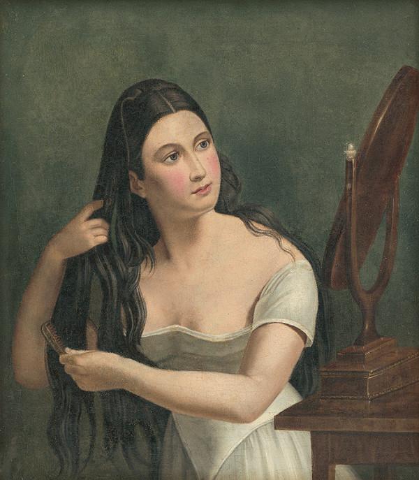 Ján Juraj Lumnitzer – Dievča pred zrkadlom