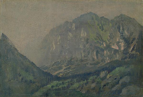 Ferdinand Katona - Motív z Vysokých Tatier