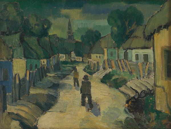 Anton Jasusch - Večer na dedine
