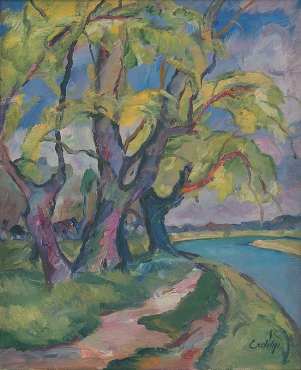 Vojtech Erdélyi – Stromy pri rieke