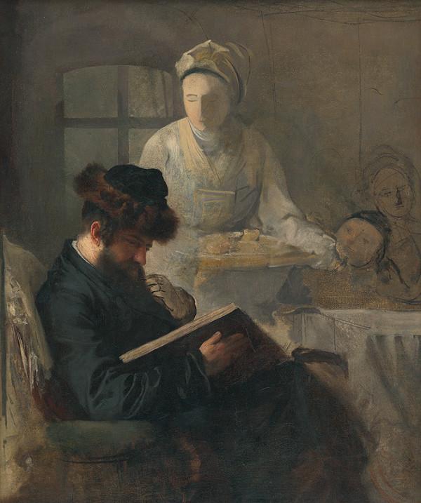 Leopold Horovitz – U rabína