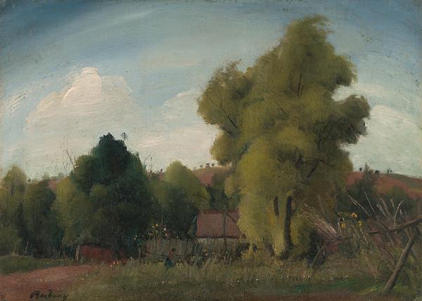 Július Rudnay - Krajina so stromami