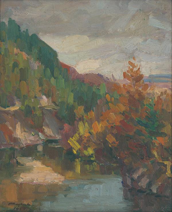 Jozef Majkut – Jeseň v prielome Hornádu