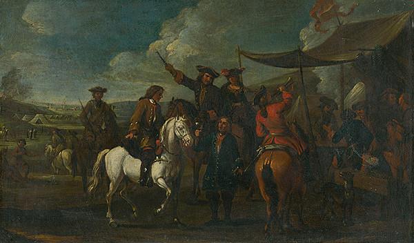 Stredoeurópsky maliar z 1. polovice 19. storočia - Vo vojenskom tábore