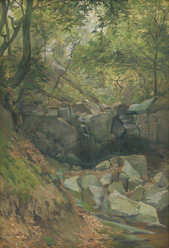 Ľudovít Čordák – Lesný potok