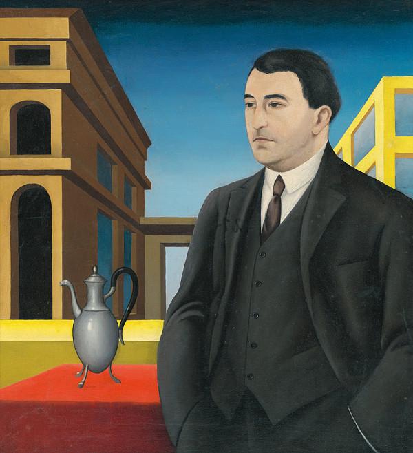 Alexander Bortnyik - Podobizeň dr.J.Poláka,riaditeľa Východoslovenského múzea v Košiciach