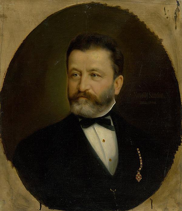 Východoslovenský maliar z 1. polovice 20. storočia – Podobizeň muža