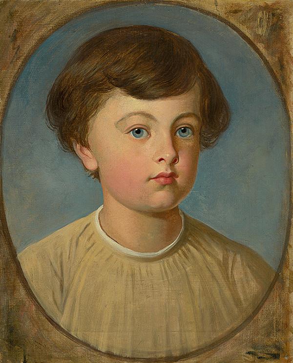 Stredoeurópsky maliar z 1. polovice 19. storočia – Podobizeň chlapca
