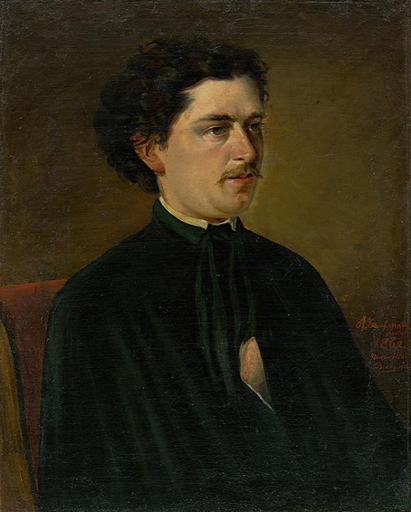 Stredoeurópsky maliar z 2. polovice 19. storočia - Podobizeň mladého muža