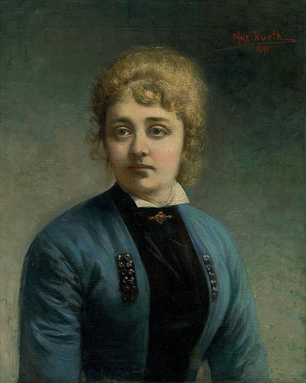 Maximilián Kurth - Podobizeň ženy
