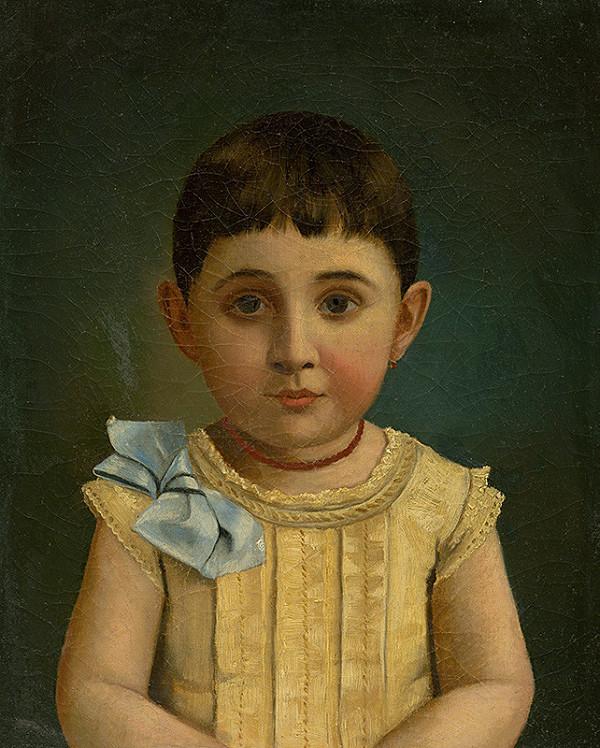 Albert von Keller – Podobizeň dieťaťa