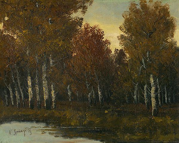 Béla Spányi - Okraj listnatého lesa