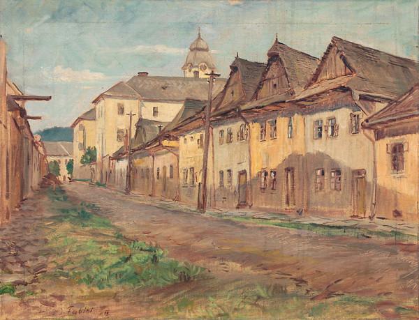 Jozef Fabini – Maliarska ulica v Levoči