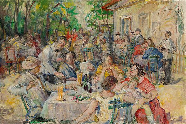 Július Jakoby – V letnej reštaurácii