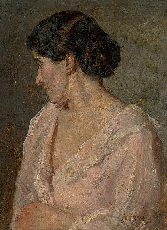 Andor Borúth - Podobizeň manželky