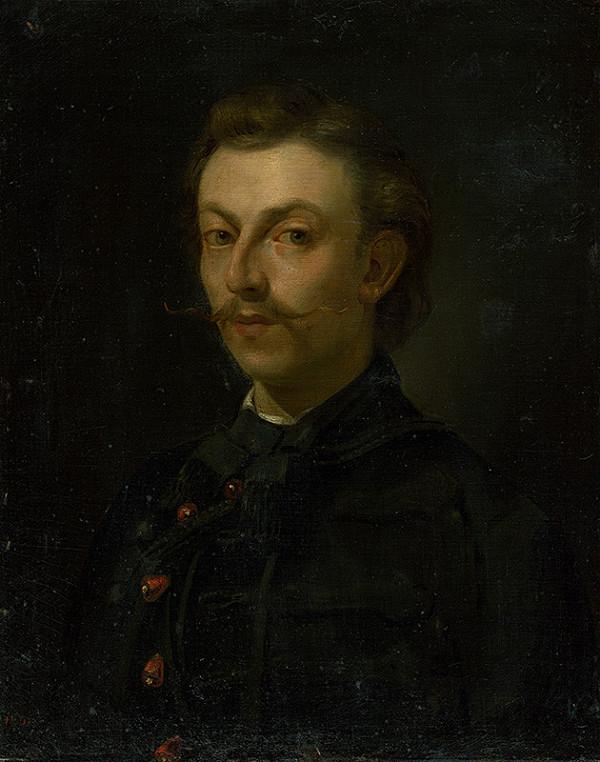 Július Petrovics - Vlastná podobizeň