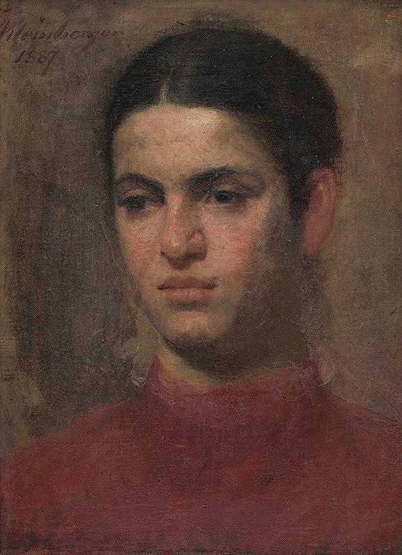 Ferdinand Katona - Hlava dievčaťa