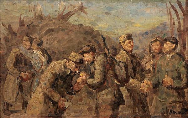 Jozef Bendík – Stretnutie partizánov