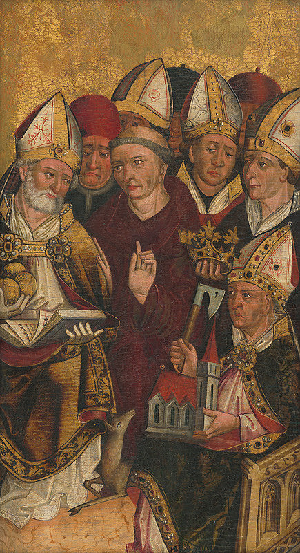 Slovenský maliar z 2. polovice 15. storočia – Fragment oltárneho krídla z Parchovian