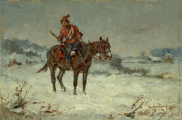 Ede Lengyel-Rheinfuss – Jazdec na koni