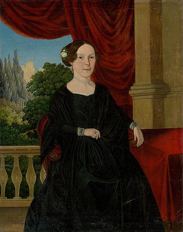 Stredoeurópsky maliar z 1. polovice 19. storočia - Podobizeň ženy
