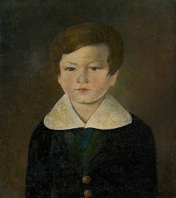 Stredoeurópsky maliar z 2. polovice 19. storočia - Podobizeň chlapca