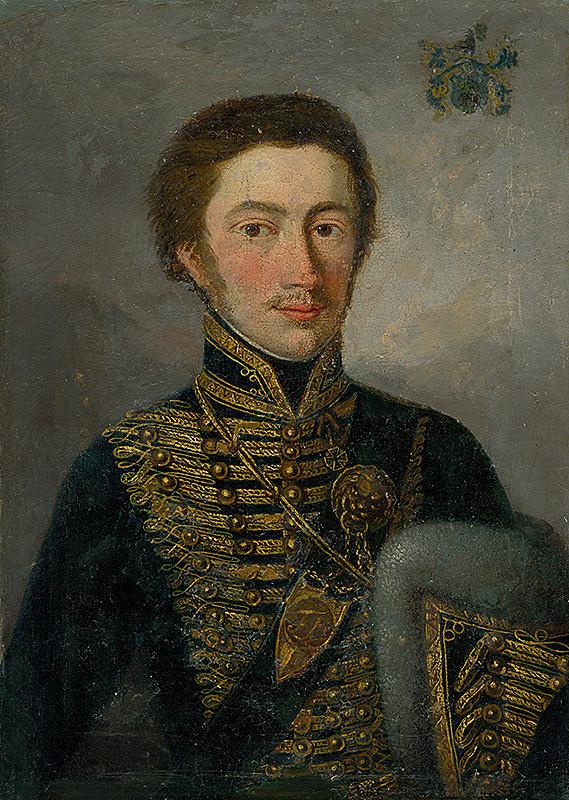 Stredoeurópsky maliar z 1. polovice 19. storočia – Podobizeň dôstojníka