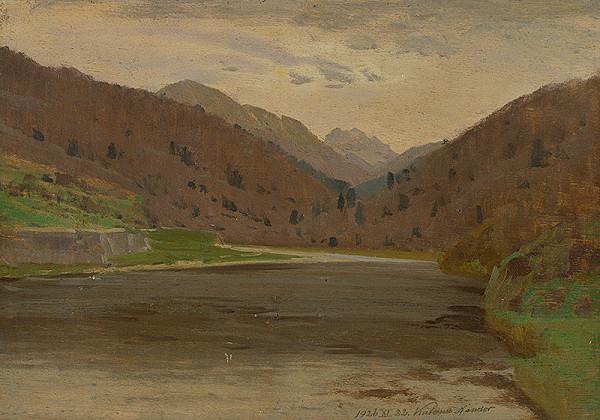 Ferdinand Katona - Horská krajina