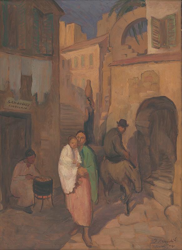 Jozef Bendík – Talianska ulička