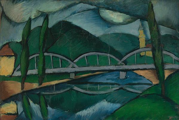Gejza Schiller - Krajina s mostom