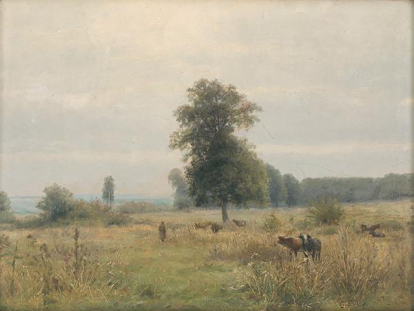Ľudovít Čordák - Krajina so stromami