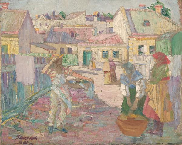 Anton Jasusch – Ráno na ulici