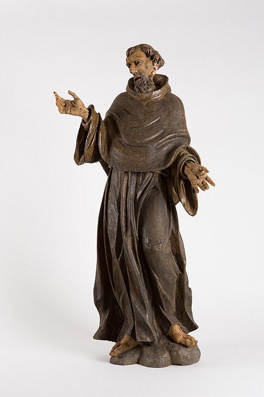 Východoslovenský sochár z 1. polovice 18. storočia – Sv. František