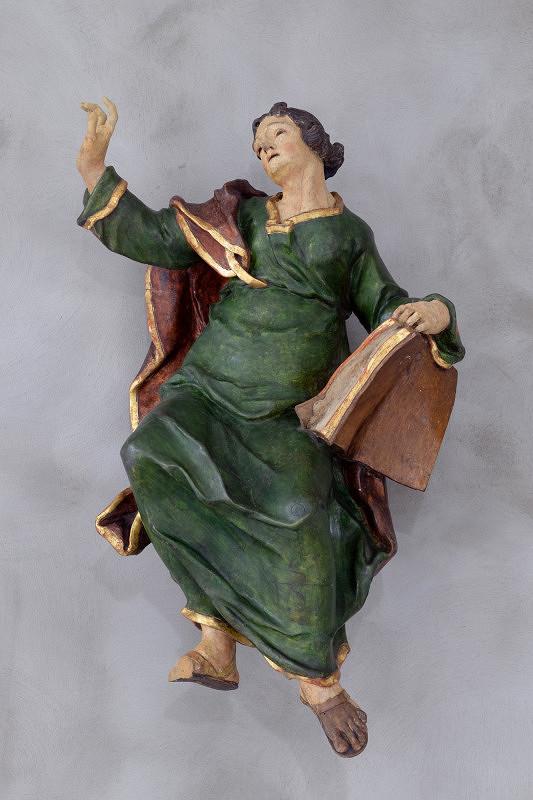 Východoslovenský sochár z 1. polovice 18. storočia – Evanjelista Ján