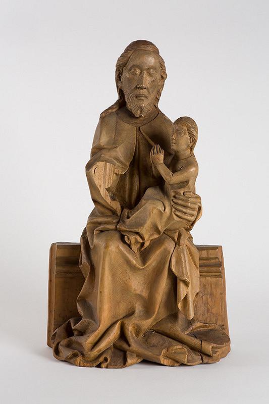 Stredoeurópsky rezbár z 15. storočia - Kristus s dušou Panny Márie zo Spišského Štvrtku