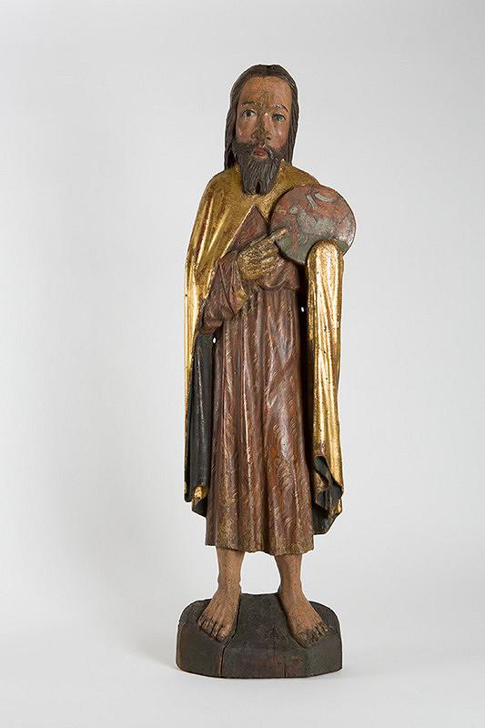 Stredoeurópsky rezbár zo 14. storočia - Svätý Ján Krstiteľ z Kišoviec