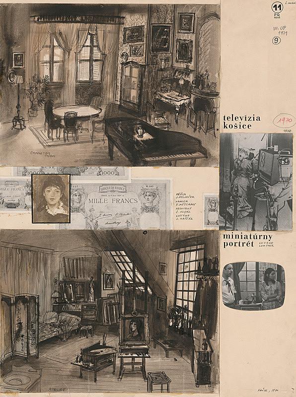 Štefan Hudák – Georg Lowther: Miniatúrny portrét