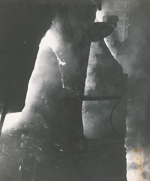 Alexander Jiroušek – VSŽ - pri odpichu