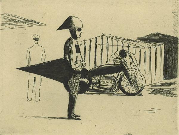 Kamil Lhoták – Motocykl