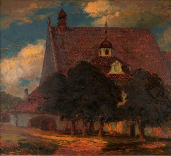 Karel Langer – Kapucínský klášter v Bechyni